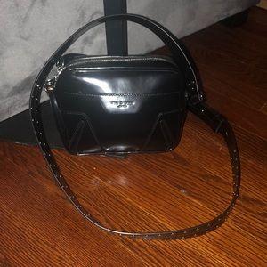 Rag & Bone mini flight camera patent leather bag